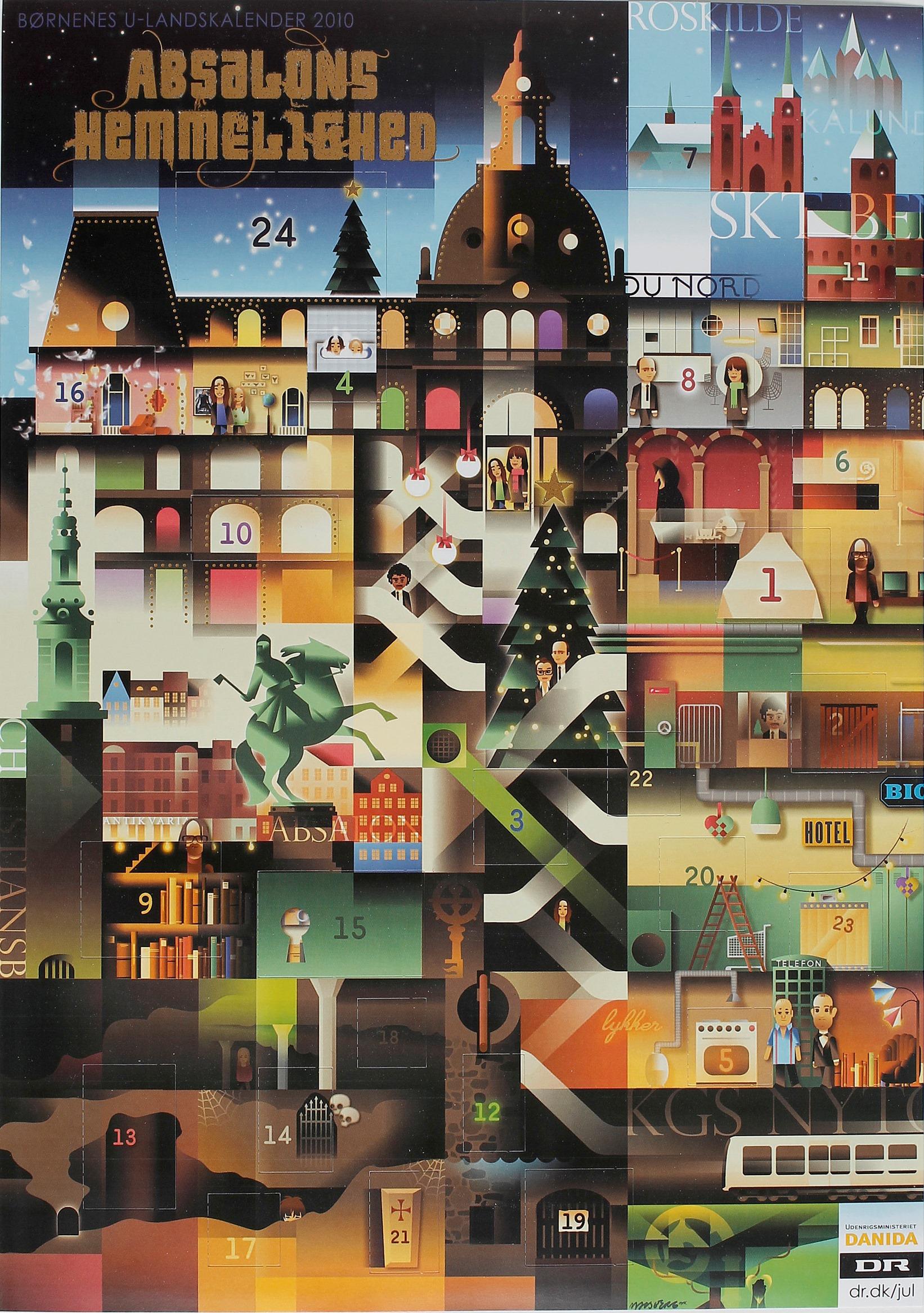 Absalons Hemmelighed Bornenes U-landskalender 2010