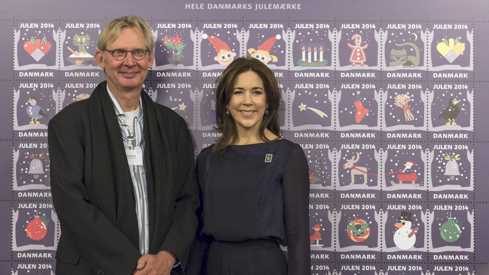 Julemaerket 2014 Jakob Kuhnel og Kronprinsesse Mary