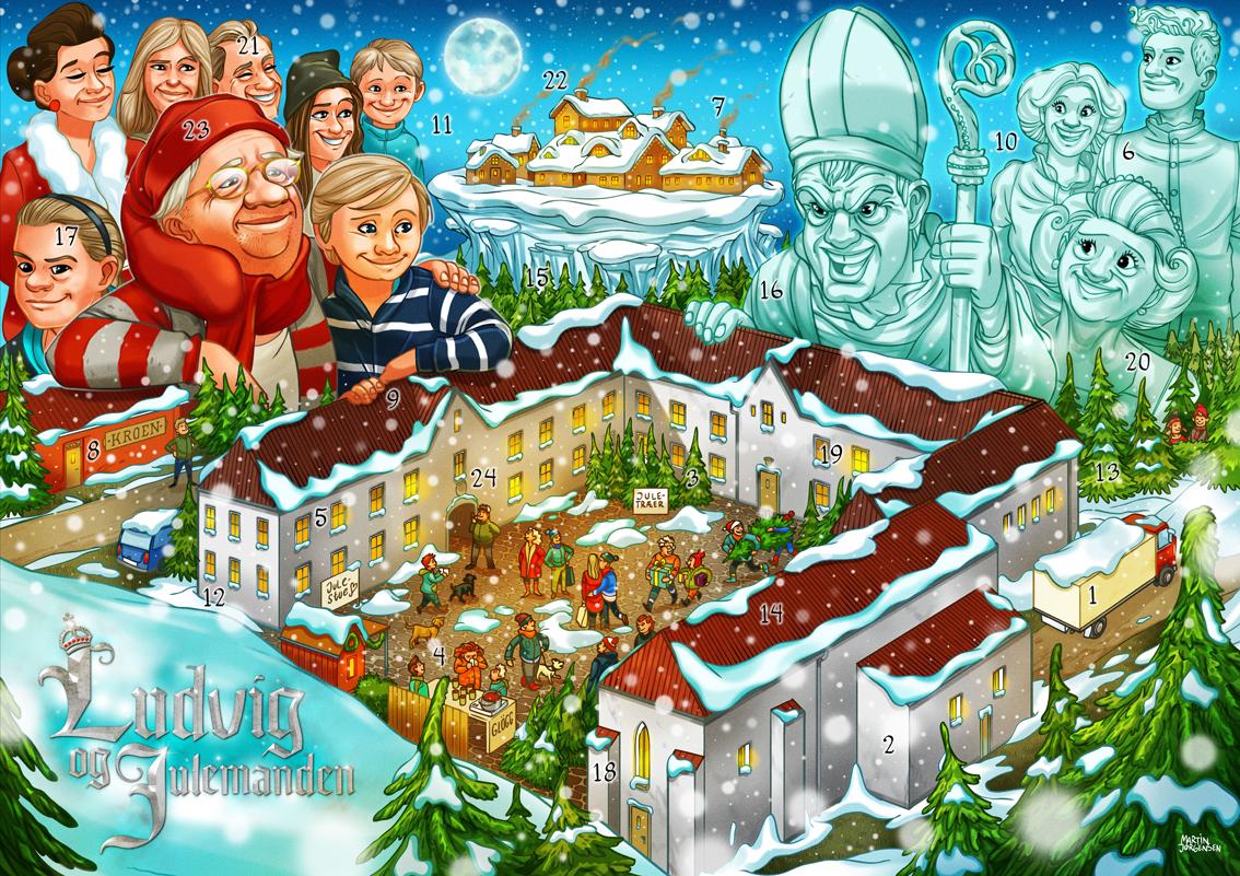 Ludvig og Julemanden Laagekalender 2016