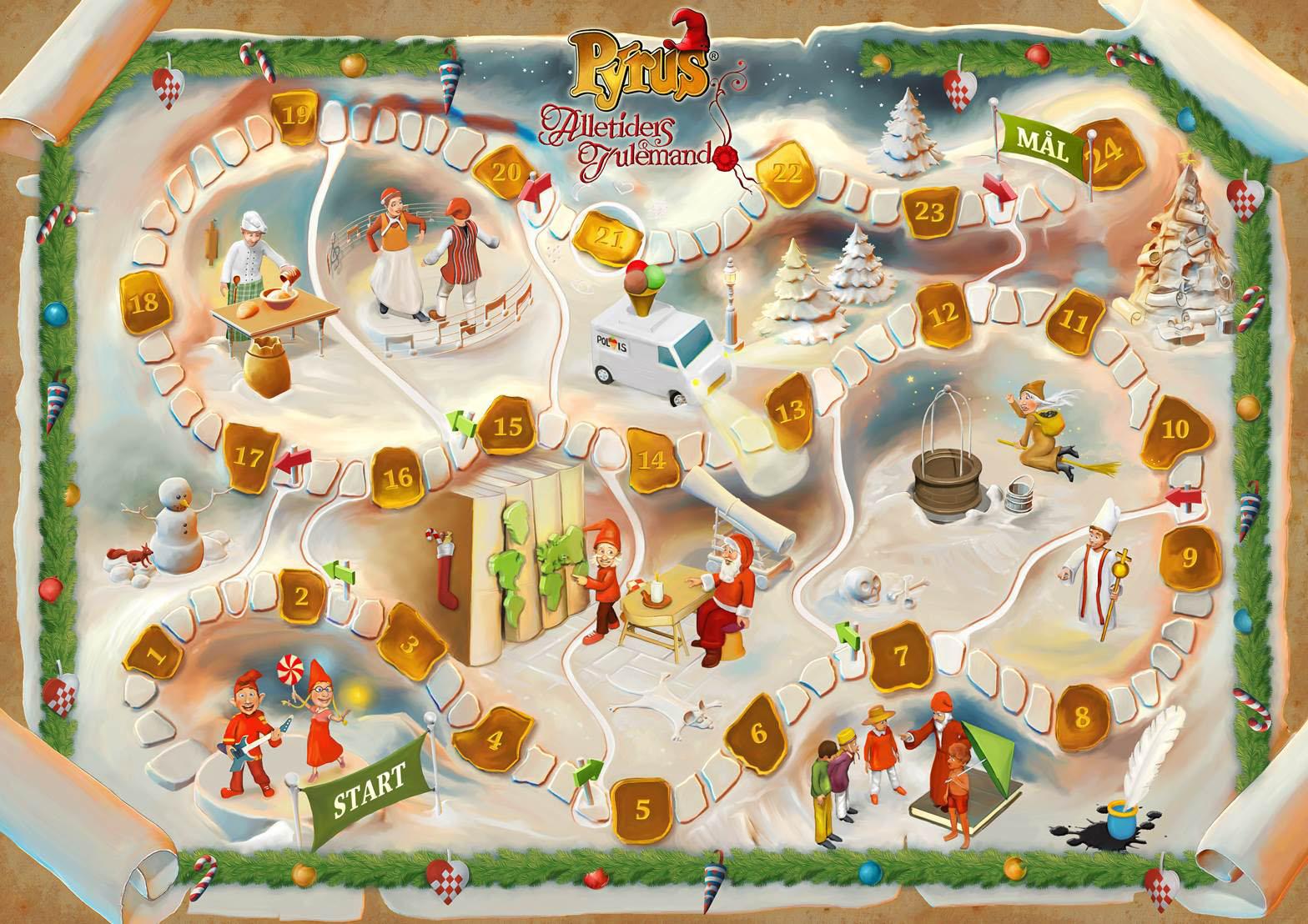 Alletiders Julemand Laagekalender 2014