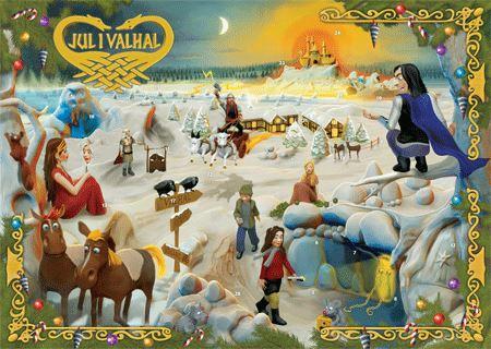 Jul i Valhal Laagekalender 2012