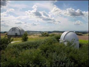 Julestjerner Location Brorfelde Observatorium