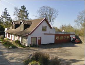 Julestjerner Location Olsens Autovaerksted
