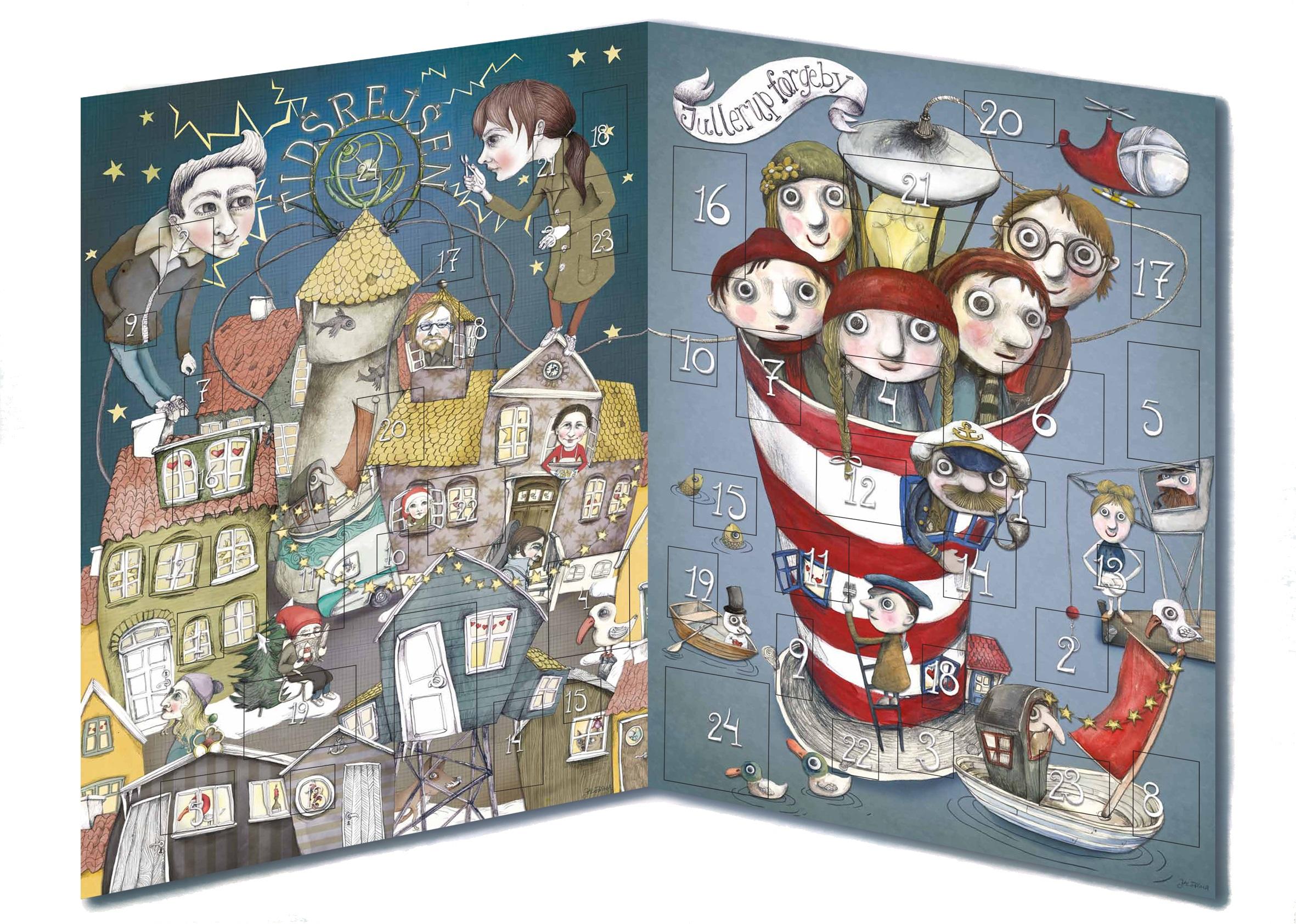 Tidsrejsen og Jullerup Faergeby Boernenes U-landskalender 2014