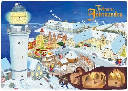 Tvillingerne og Julemanden Laagekalender 2013