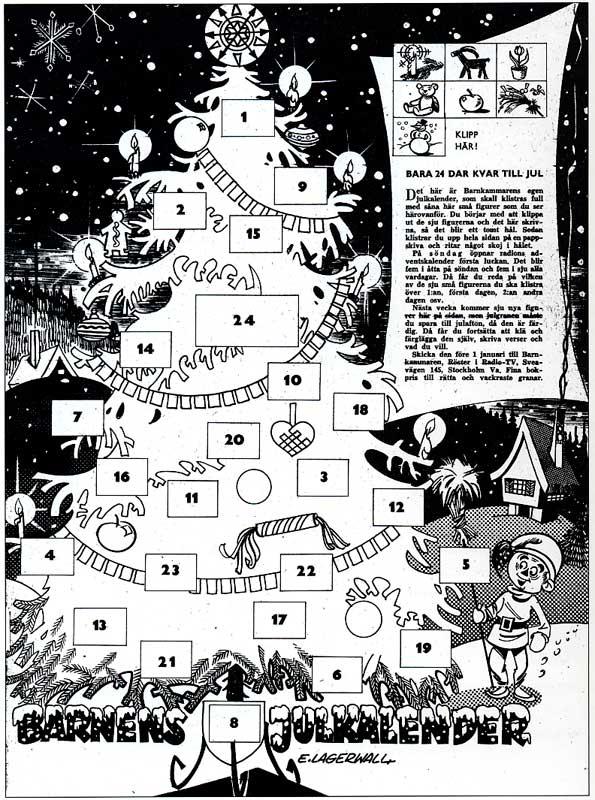 Barnens Julkalender 1957
