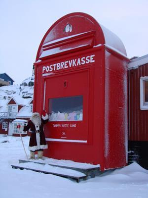 Julemandens Postkasse Ilullisat