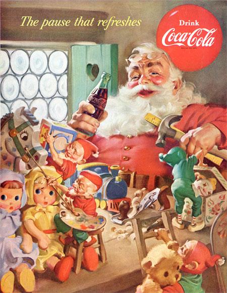 Santa Claus Coca-Cola 03