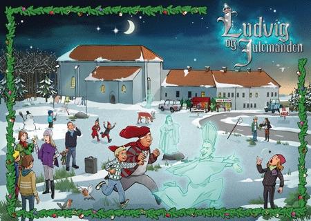 Ludvig og Julemanden Laagekalender 2011