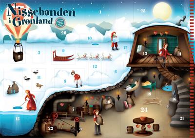 Nissebanden i Groenland U-landskalender 2011