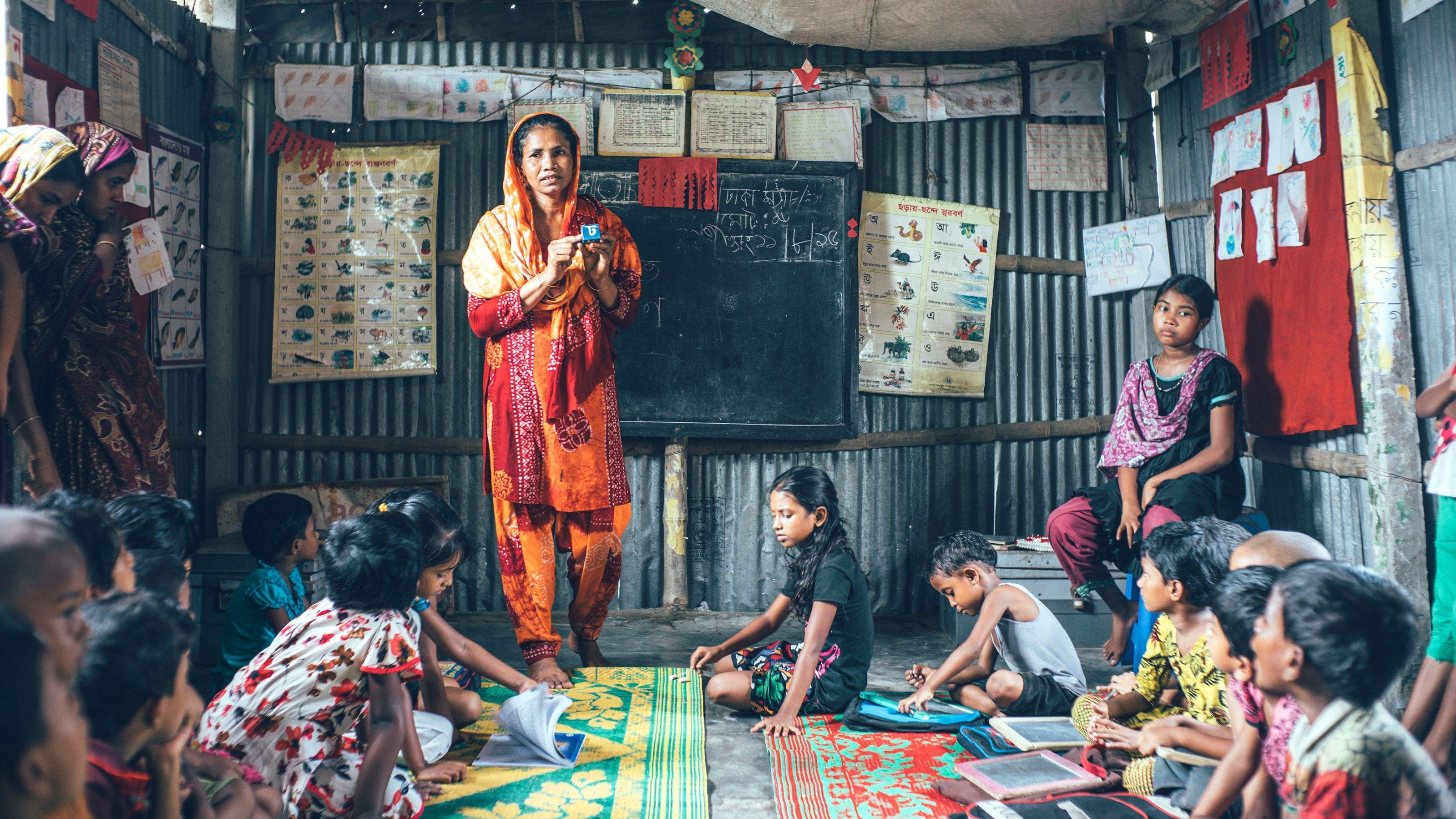 Overskuddet fra Børnenes U-landskalender 2019 går til Bangladesh