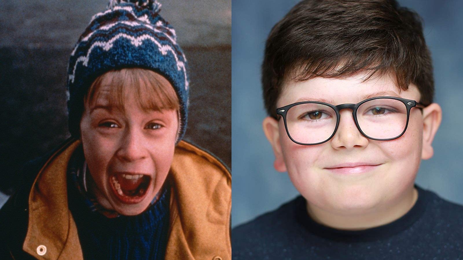 Macaulay Culkin og Archie Yates