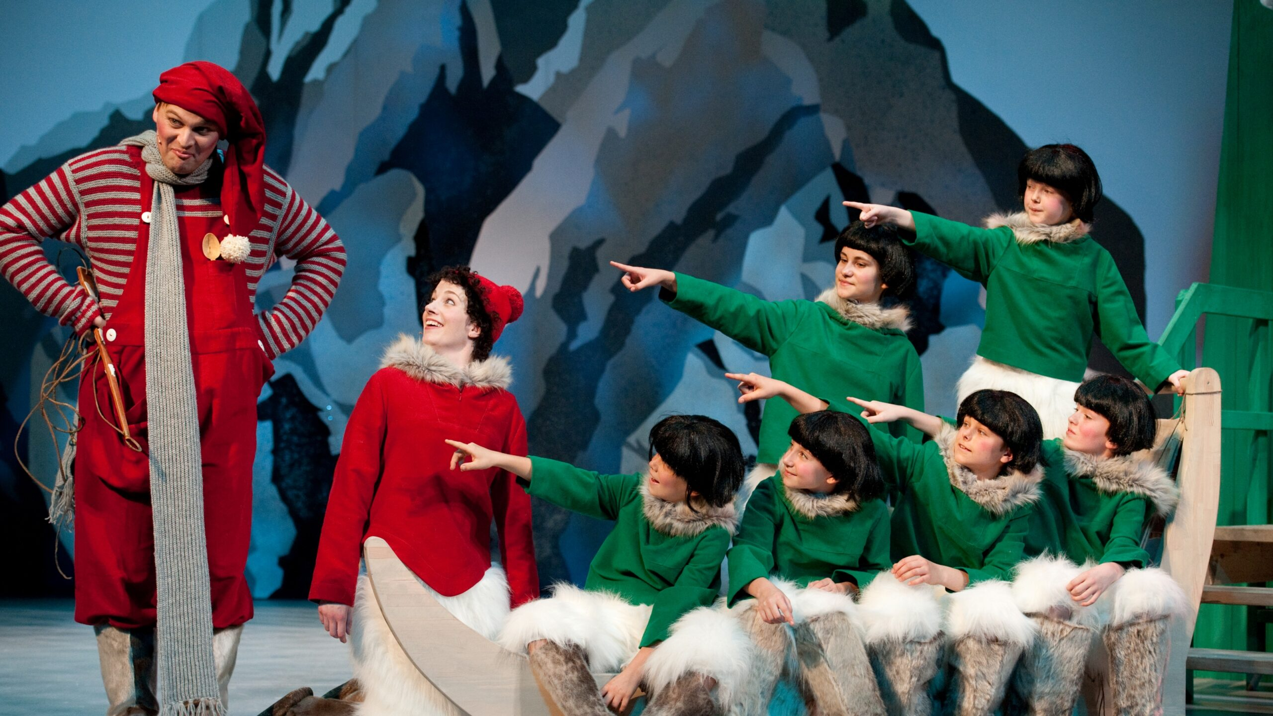 Nissebanden i Julemandens Land Odense Teater 2018