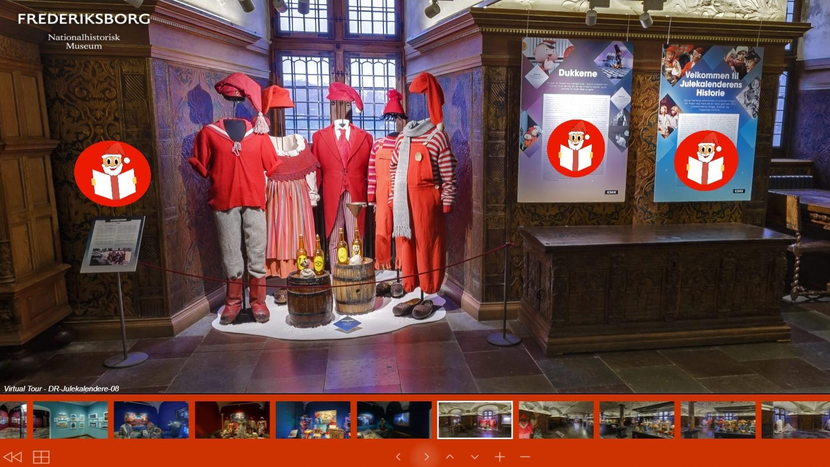 DR Julekalenderudstilling Frederiksborg Slot Digital 01