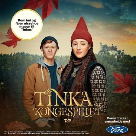 Tinka og Kongespillet Nissehue Ford Reklame